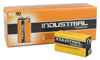 Pack Of 10 DURACELL Industrial Type 9V Battery PP3