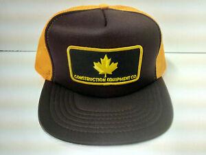 Vintage Construction Equipment CO. Hat Cap