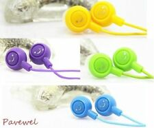 5 PCS Smiling Face Multipurpose Earphone Earbud with Various Colors