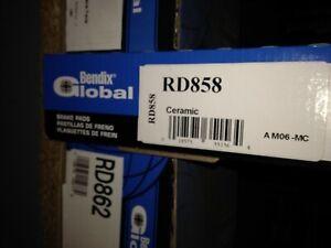 Bendix Global RD858 Ceramic Brake Pad Set fits D858