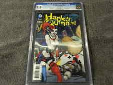 2013 DC Comics DETECTIVE COMICS #23.2 HARLEY QUINN 3-D Lenticular Cover  CGC 9.8
