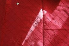 FABULOUS QUALITY 100% PURE SILK QUILT EMBROIDERED - KRAVET / FURNISHING COLLECTI