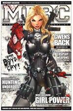 Jamie Tyndall Marvel Comics SIGNED Spiderman Art Print ~ Punisher Gwen Cosplay
