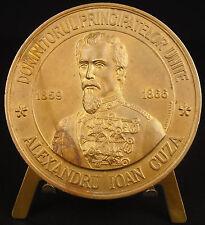 medal Alexandru Ioan Cuza domnitorul principatelor Moldova Romania medal