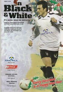 Port Vale v Oldham Athletic  18-Dec-2004