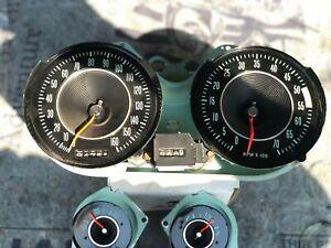 1964 Chevrolet Corvette Instrument Gauge Cluster Gauges