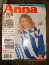 Anna - Burda Ouvrages Manuels N°8 1993 Patron Point de croix Broderie Tricot