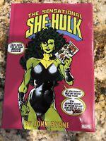 Sensational She-Hulk Omnibus Volume 1 DM Byrne Variant Hardcover HC OOP SEALED