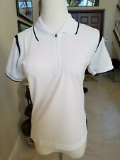 TWOROY POLO GOLF SHIRT Coolon Half Zip Women's New Golf Shirt Small