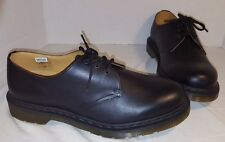 NEW MEN'S DR. MARTENS 1461 GLOSSY BLACK LEATHER OXFORD  SHOE SIZE US 10