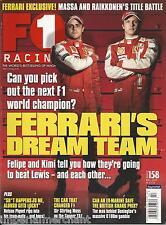 F1 Racing magazine Felipe Massa Nelson Piquet Modern helmet Cooper T51 Testing