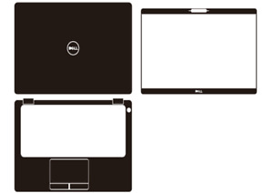 "Laptop Carbon Skin Sticker Cover For DELL Latitude 5300 13.3"" nontouchscreen"