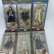 Lot Of 6 Lord Of The Rings Lotr Toybiz Action Figures IOB
