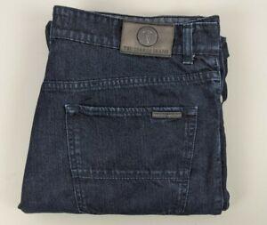 Trussardi Jeans 379 Classic Mens Blue Denim Jeans Made In Tunisia - Size 38
