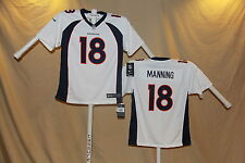 PEYTON MANNING Denver Broncos  NIKE Game JERSEY Youth Large  NwT $70 retail  wht