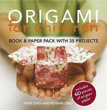 Origami for Children Book & Paper Pack with 35 Projects NEW FREE P&P