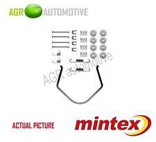 MINTEX REAR BRAKE SHOES SET FITTING KIT PIN SPRINGS GENUINE QUALITY - MBA638