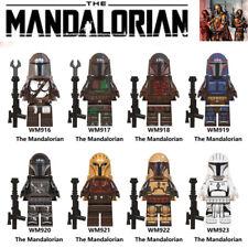 8 Pcs Minifigures Mandalorian Soldier Star Wars Mini Action Figure Set Kids Toys