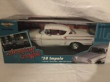 American Muscle 1958 Chevy Impala American Graffiti 1:18 Scale Model 58 Car
