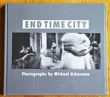 SIGNED - MICHAEL ACKERMAN - END TIME CITY - 1999 1ST EDITION & 1ST PRINTING FINE