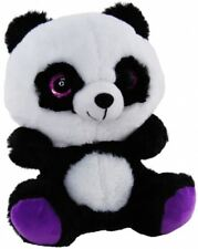 PANDA GLITTER PURPLE 23CM soft plush toy by Elka