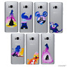 Disney Aquarelle Coque/Etui/Case Pour Samsung Galaxy S7/Edge/S8/S9 Plus / Gel