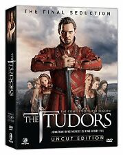 The Tudors - The Complete Fourth Season DVD Uncut New in Box Sealed