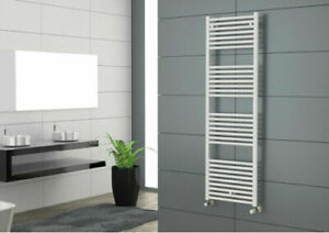 Cordivari Hydronic Towel Warmer White Straight 20'x48'' wall mount Made in Italy
