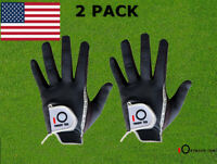 Mens Golf Gloves Large 2 Pack All Weather Left Right Hand Rain Grip Hot Wet