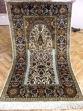 Orientteppich Teppich Seidenteppich Palast Naturseide Fein 160x90 Neuwertig