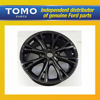 "New Genuine Ford FIESTA MK7/8 Black Red Edition Y Design 17"" Alloy Wheel 1870824"