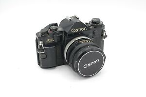 Canon A1 SLR with 50mm F1.8 lens