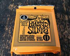 3 SET Hybrid Ernie Ball Corde per chitarra elettrica Slinky nichel rivestito