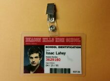 Teen Wolf ID Badge -Beacon Hills High Issac Lahey prop cosplay costume