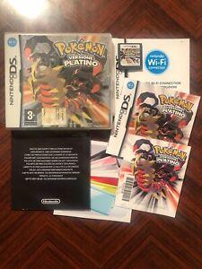 Pokemon Platino - Nintendo DS - Come Nuovo - Completo - PAL ITA