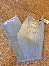 Women's NEW LUCKY BRAND Sz 8/29 Dungaree Low Rise Destroyed Straight Leg Jeans