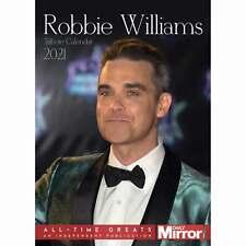Robbie Williams Unofficial A3 Calendar 2021