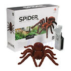 Kid Gift Remote Control Scary Creepy Soft Plush Spider Infrared RC Tarantula Toy