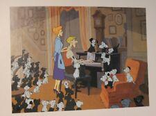 Lithographie Walt Disney - Les 101 Dalmatiens - Litho Exclusive Commémorative