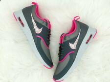 Crystal Nike Air Max Thea grau pink Gr. 38,5 Glitzer mit Swarovski Elements