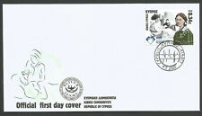 Cyprus Stamps 2020 Nurse Midwife Florence Nightingale Official FDC Low Postage