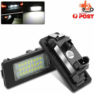 Vehicle LED Lamp Number License Plate Light Bulb For BMW1/3/5 Series X5/6 x2 AU
