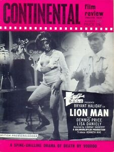 Continental Film Review magazine, August 1964. VGC. Free UK Postage.