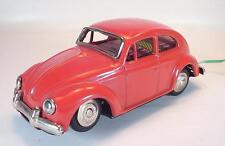 Blech Volkswagen VW Käfer 1200 mit Batterie Kabellenkung ca. 60er Jahre #1318