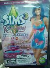 The Sims 3: Katy Perry Sweet Treats (WIN/MAC/DVD) READ DETAILS FIRST Fashion