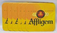 AFFLIGEM BIERE 6 sous-bocks sous-verre carton Bière d'Abbaye NEUF