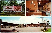 ASHBURN, Georgia GA  Roadside ASHBURN MOTOR INN Honeybear Restaurant Postcard