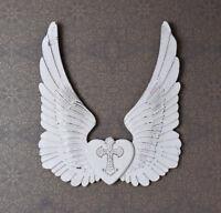 Wandskulptur Wanddekoration Engel Flügel Engelsflügel Wandflügel Dekoflügel
