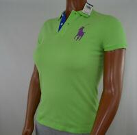 Women's Ralph Lauren Short-Sleeve Big Pony Classic Polo Shirt