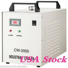 USA STOCK! BEST 110V CW-3000DG Water Chiller for 60/80W Laser Engraving Machine